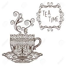 adult tea party clipart. Contemporary Tea How To Draw Cartoon High Tea Party  Google Search More On Adult Tea Party Clipart T