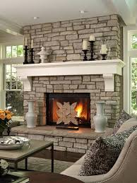 decorate living room with fireplace. Custom Built Fireplace Ideas For A Living Room Decorate With D