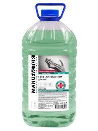 Спиртовой <b>гель</b>-<b>антисептик</b> для <b>рук</b>, 5 л MANUFACTOR 11717284 ...