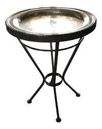 silver tray table vintage angular iron round silver tray side table silver tray table uk