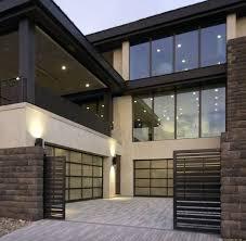 glass panel garage doors model is