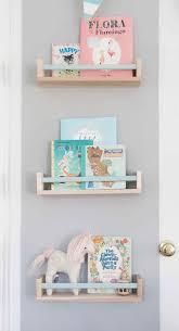 Ikea BEKVAM spice rack as book shelf with painted bar Ellie James#8217;  Nursery