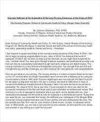 Graduation Speech Examples Classy 48 Graduation Speech Examples Samples PDF