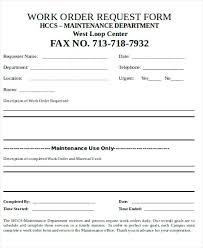 work order maintenance request form template work order maintenance request form template definition biology
