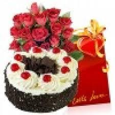 1 Kg Cake Flowers Card