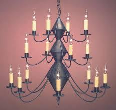 early american chandeliers hammerworks model ch303