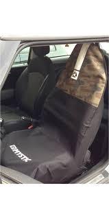 2018 mystic car seat cover single black camo 150325