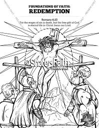 Romans 6 Redemption Sunday School Coloring Pages Sunday School