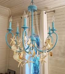 beach inspired lighting. diy beach chandelier ideas summerize your with finds inspired lighting