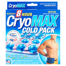 cryomax reusable 8 hour medium cold pack