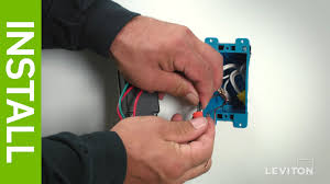 leviton presents how to wire a device using the pigtail wiring leviton presents how to wire a device using the pigtail wiring method
