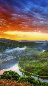 Amazon River Sunset iPhone 6 Wallpaper ...