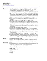 Resume Format For Embedded Engineers Awesome Software Engineer