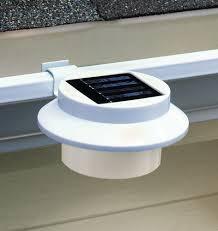 Clip On Solar Deck Lights Rain Gutter Solar Lights Solar Rain Gutter Clip On Outdoor