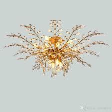 led chandelier light fixtures iron crystal ceiling lights 16 heads up down light black