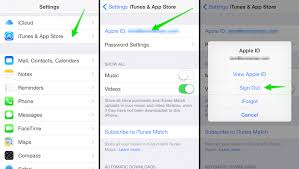 Support How-to-change-apple-id-sign-out-of-app-store Ipad - Number