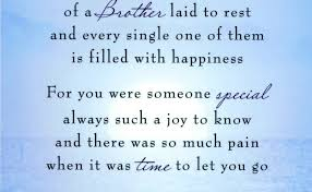 Loss Of Brother Quotes Gorgeous Death Anniversary Quotes For Brother Mr Quotes