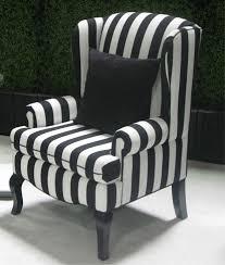 black and white striped furniture. black wing back chairs encoreblack u0026 white stripe chair town and striped furniture