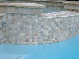 Awe Inspiring Glass Tile For Pool Steps With Iridescent Glass