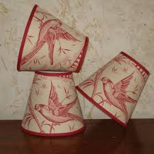 lighting toile lamp shades black red blue white chandelier and shade target small for crafts