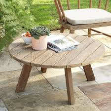 outdoor coffee table round module 2 with umbrella hole round coffee table large outdoor