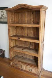 Mexican Pine Living Room Furniture Bookcase Mexican Pine Furniture With Drawers Rustic Mexican Pine