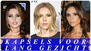 Mooie Kapsels Voor Lang Gezicht 2018 Dames