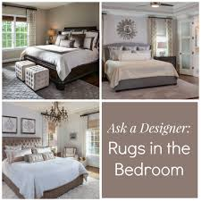 rug in bedroom. where to put a rug in bedroom designs m
