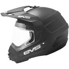 Evs Helmet Size Chart X Small Matte Black Evs T5 Venture Dual Sport Adult Dirt
