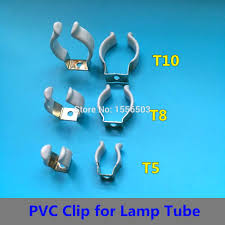 Clip On Fluorescent Light Covers Amazon Com Kamas 20 Pcs T5 T8 T10 Pvc Strong U Clip Wedge