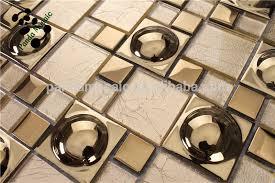 smg03 mirror tiles self adhesive wall tiles gold