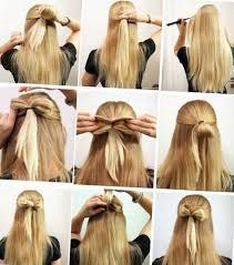 Coiffure Simple Et Rapide Cheveux Courts Chignon Classique