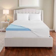 novaform comfort grande queen. 3\u201d evencor gelplus gel memory foam mattress topper with cooling cover novaform comfort grande queen