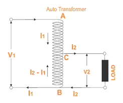 what is auto transformer ? electrical study app by saru tech auto transformer calculations at Auto Transformer Circuit Diagram