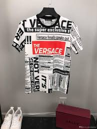2019 Popular T Shirts Mens Clothing Tops Tee Shirt Fashion Summer Tide Braned Letters Printed Casual Men Shirt M 3xl