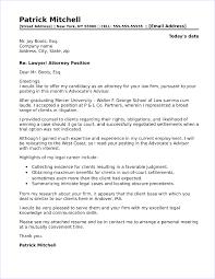 Legal Cover Letter Sample