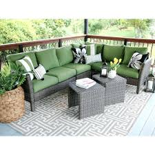 home depot wicker furniture. Patio Furniture Augusta Ga Leisure Made Canton 6 Piece Wicker Outdoor Sectional Set With Green Cushions The Home Depot Random 2