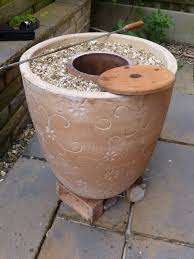 how to make a diy tandoor oven with flower pots