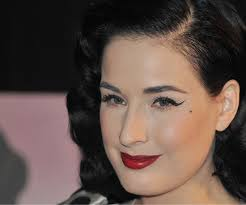 dita von teese talks about her uping book and a potential fragrance and makeup line popsugar beauty