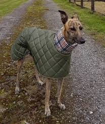 greyhound fleece lined winter coats and jackets with long fleece neck