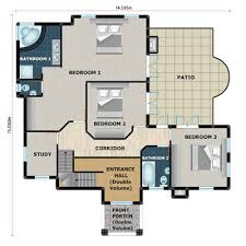House plans  building plans and   house plans  floor plans from    House plan PL C  floorplan ground  floorplan upper