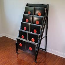 record album storage furniture. bin5 lp storage and display 5000 record album furniture s