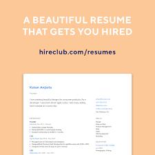 Resume Bilder Hireclub Resume Builder Launched Republic