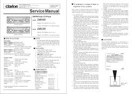 clarion db335 service manual Db345mp Clarion Wiring Diagram Db345mp Clarion Wiring Diagram #15 Clarion NX409 Wiring Harness Diagram