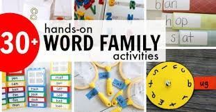 Activities Word 30 Fun Word Family Activities Games I Can Teach My Child