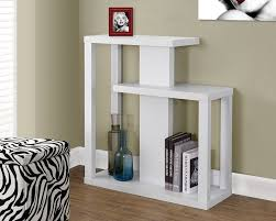 modern white console table. Amazon.com: Monarch Specialties I 2471 White Hall Console Accent Table, 32\ Modern Table E
