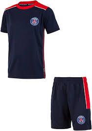 PARIS SAINT GERMAIN - Maglia + pantaloncini PSG, collezione ufficiale del Paris  Saint Germain, per bambino/ragazzo: Amazon.it: Sport e tempo libero