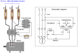 electric motor starter circuit diagram single phase forward Reversing Motor Starter Wiring Diagram electric motor starter circuit diagram ac motor control circuits wiring diagram for reversing motor starter