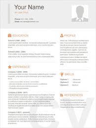 Free Job Resume Template Professional Basic Resume Template Free