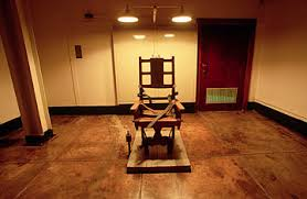 Image result for death sentence chair